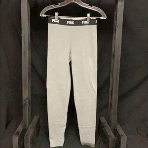 Victoria's Secret PINK gray leggings